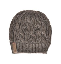 Pimps and Pearls Beanie Caban Muts BC10 Mocca