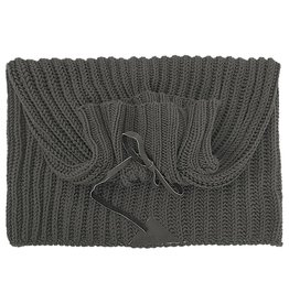 Pimps and Pearls Knitted Snood Sjaal 03 Greyish Green