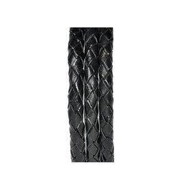 Pimps and Pearls Moesss2 Leder Koper 01 Black