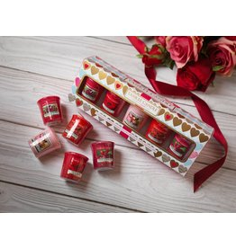 Yankee Candle Valentine 5 Votive Giftset