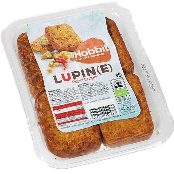 De Hobbit Lupine burgers peper