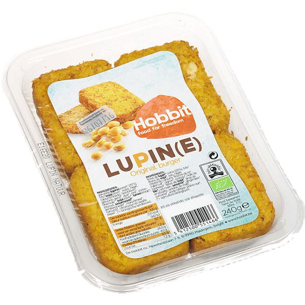 De Hobbit Lupine burgers original