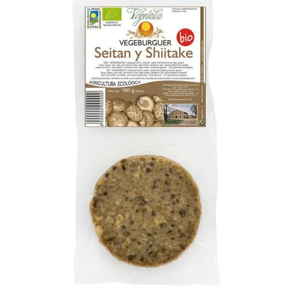 Vegetalia Seitanburger met shitake