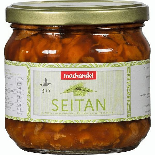 Machandel Seitan naturel in marinade
