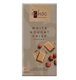 Ichoc White nougat crisp reep