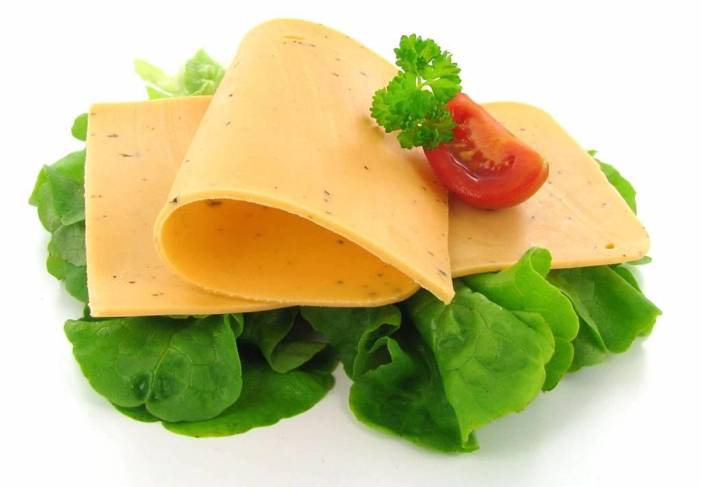 Wilmersburger Plakjes vegan kaas - tomaat basilicum