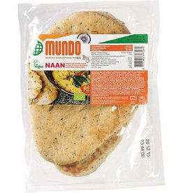 O Mundo Naanbrood knoflook & koriander