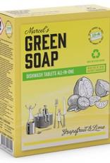 Marcel's Green Soap Vaatwastablet Grapefruit & Limoen