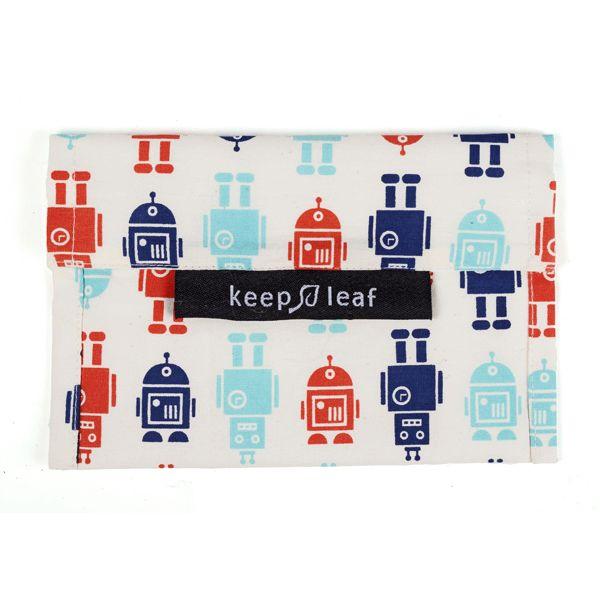 Keep leaf Boterhamzakje medium | Robot
