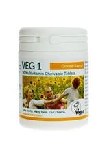 The Vegan Society Multivitamine sinaasappelsmaak