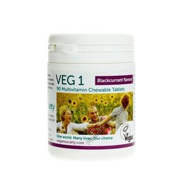 The Vegan Society Multivitamine zwarte bes