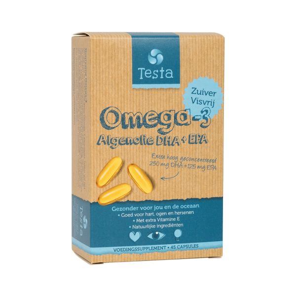 Testa Omega 3 DHA+ EPA & Vitamine E
