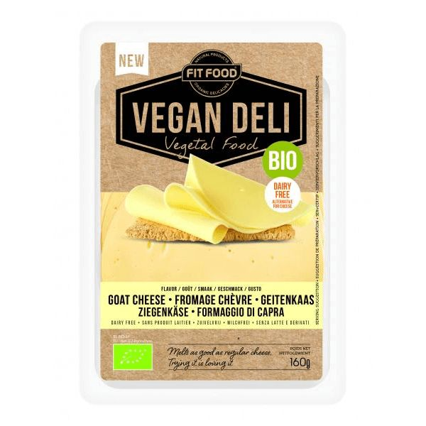 Vegan Deli Plakjes vegan geitenkaas