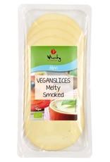 Wheaty Plakjes vegan kaas - gerookt