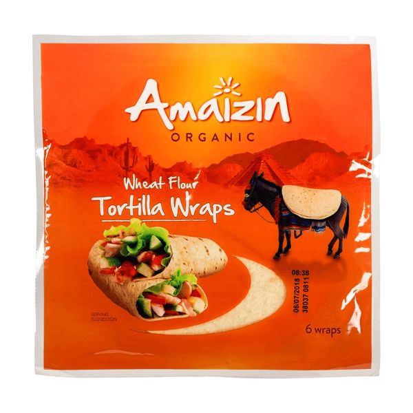 Amaizin Tortilla wraps