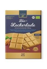 Clarana Blonde chocoladereep met hazelnootvulling