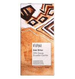 Vivani Puur 70% cacao reep