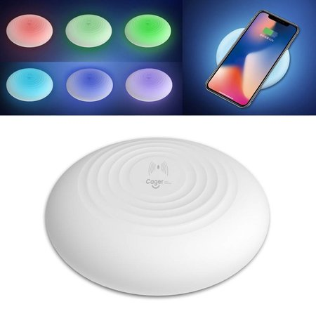 CAGER CAGER RGBW Automatisch Kleuren LED Verlichting met Draadloze Oplader Pad