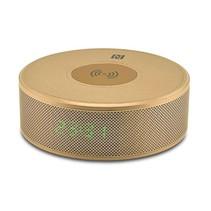 Qi Draadloze Oplader Pad met Bluetooth Speaker - Goud