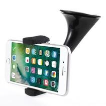 Qi Wireless Autolader met Zuignap - Zwart