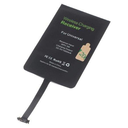 Qi draadloze ontvanger universeel Micro-USB