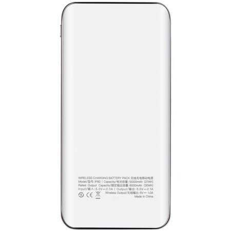 MOMAX MOMAX iPower Air 10000 mAh Wireless Charging Power Bank - Wit