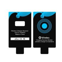 Qi Draadloze Ontvanger USB Type-C - Zwart