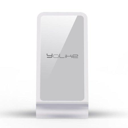 YOLIKE YOLIKE Aluminium Qi Draadloze Snellader met Stand - Zilver