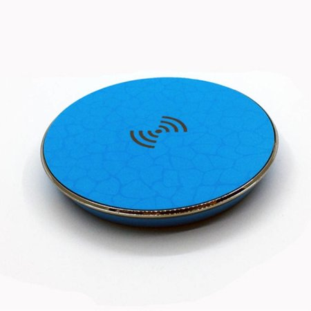 Qi Wireless Charging Pad - Blauw