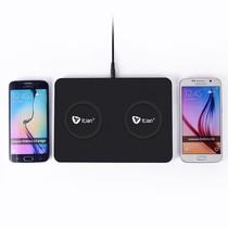 Q300 Qi Draadloze Oplader voor 2 Smartphones
