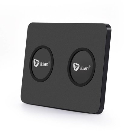 ITIAN ITIAN Q300 Qi Draadloze Oplader voor 2 Smartphones