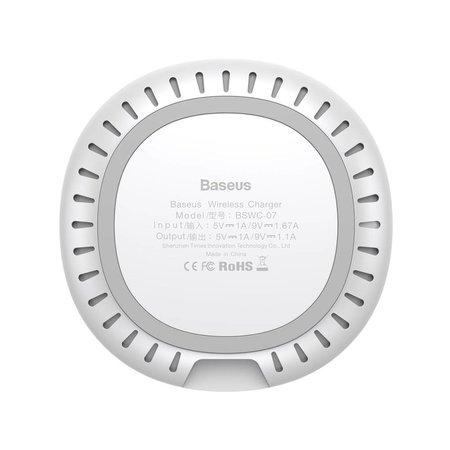 BASEUS BASEUS UFO Series Draadloze Oplader - Wit