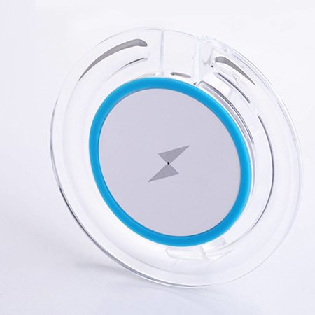 5W Qi Draadloze Oplader - Blauw