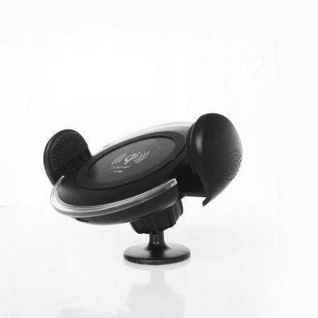 YOGEE YOGEE Draadloze Bureau / Auto Oplader met Zuignap - Zwart
