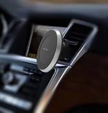 2-in-1 Qi Draadloze Auto / Bureau Snellader met Magneet