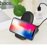 HOCO HOCO 3-Coils Qi Snelle Draadloze Oplader Pad met Standaard