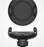 Qi 3.0 Snellader Draadloze Autolader - Zwart