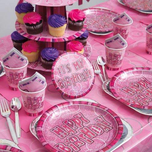 Happy Birthday Glitz pink