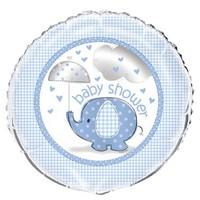 thumb-Babyshower olifantje boy folieballon-1