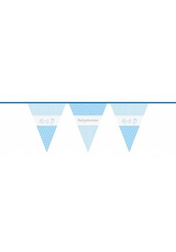 Babyshower Boy vlaggenlijn - 10 meter