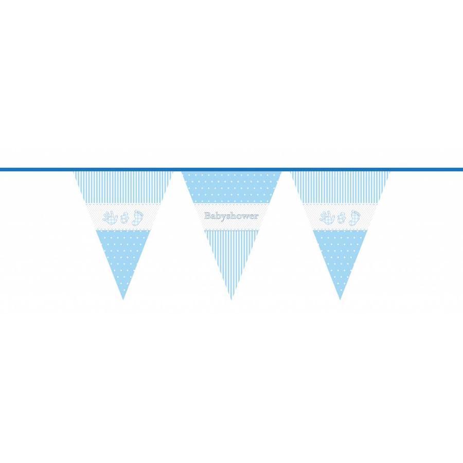 Babyshower Boy vlaggenlijn - 10 meter-1