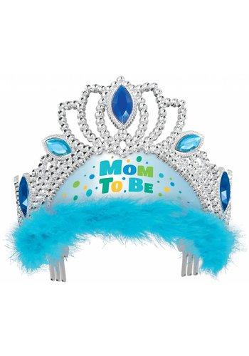 Tiara Mom to Be - Licht Blauw