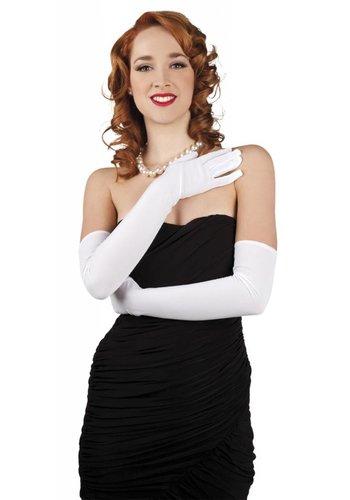 Handschoenen opera Los Angeles - wit