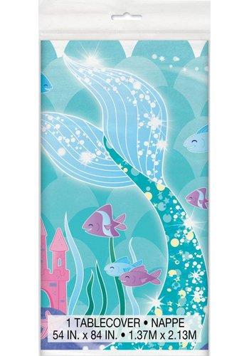 Mermaid tafelkleed 140x214cm