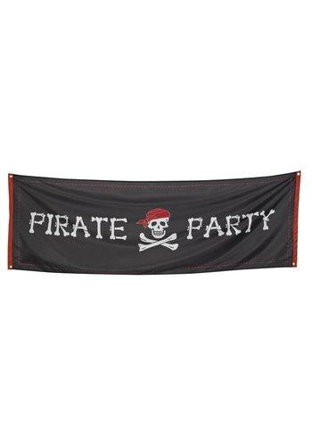 Piraten banner - 74x220cm