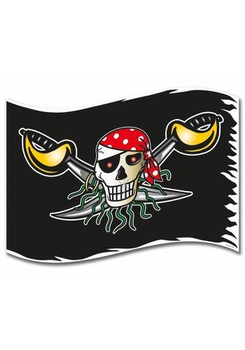 Piratenvlag - 90x60cm