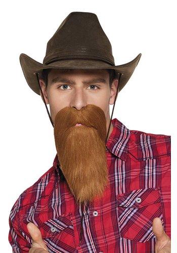 Cowboy Baard Bruin