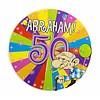 Abraham Explosion badge met LED