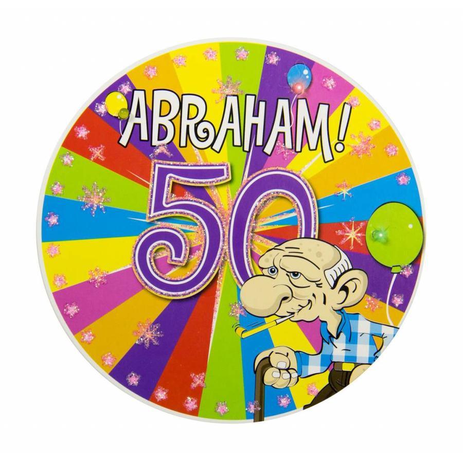 Abraham Explosion badge met LED-1