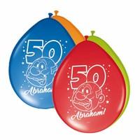 Abraham Rainbow ballonnen - 8 stuks